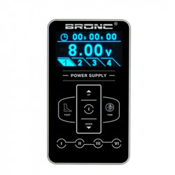 BRONC 3AMPS Tattoo Power Supply