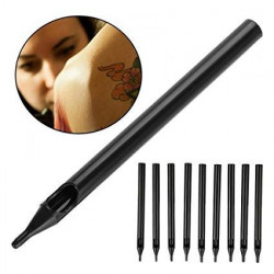 Black Long Disposable Tip-DT
