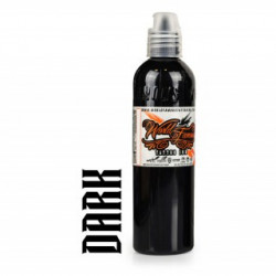 Worldfamous Pitch Black Ink 8Oz #IMIK046