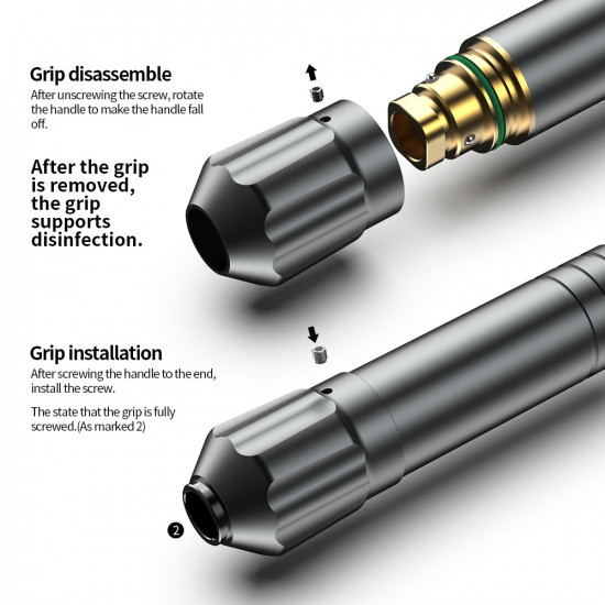 Ares Tattoo Cartridge Pen Machine #HM078